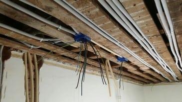 Elektriciteit vervangen in oud huis